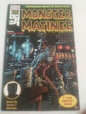Monster Matinee #1 October 1997 Chaos Comics Classic Monsters