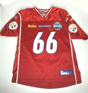 Alan Faneca 2006 NFL Pro Bowl Authentic Reebok Jersey Steelers sz52 Stitched HOF