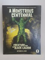 A MONSTROUS CENTENNIAL-The Creature from the Black Lagoon- Signed by Julie Adams