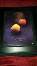 Paul McCartney And Wings Venus And Mars Rare Original Promo Ad Framed!