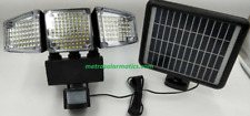188 LEDs Triple Head Solar Powered Motion Activated Flood Light