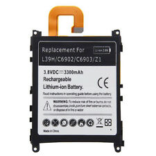 3300mAh Rechargeable Battery for Sony Xperia Z1 L39H C6902 C6903 Batteria