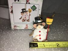 "Charming Tails ""Snow Smile As Cheery As Yours"" Dean Griff Christmas Ornament"