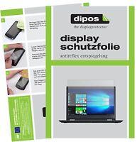 2x Schutzfolie für Lenovo ThinkPad Yoga 370 matt Displayschutzfolie Folie dipos