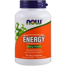 Now Foods Energy - 90 Capsule-Dieta Metabolica & Supporto surrenale