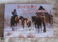 LEANIN TREE Best of the West Holiday Christmas Cards~2 each of 10 designs~