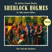 DER TOD DES HENKERS (NEWE FÄLLE 39) - SHERLOCK HOLMES   CD NEW FREUND,MARC