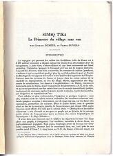 G. DUMEZIL SUMAQ T'IKA 1976 PEROU QUECHUA CONTE AMERIQUE LATINE LINGUISTIQUE