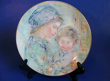 "Royal Doulton Collector Plate ""Colette and Child"" by Edna Hibel -1st. of Series"