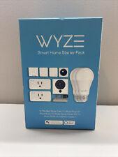 Wyze Starter Kit Smart Home With Camera, Motion Sensor, Smart Plugs & LED Bulbs