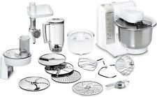 Bosch MUM48140DE Küchenmaschine große Rührschüssel 4 Rührstufen 600 W weiß