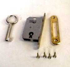 Einsteckschloss rechts, links und für Schublade verwendbar 15 mm Dornmaß #0521