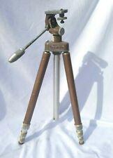 Vintage Whitehall Travelite TR-1 Brown Telescoping Aluminum Tripod