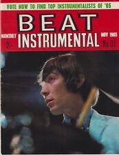 BEAT INSTRUMENTAL # 31 (Nov 1965) Rolling Stones The Kinks Beatles Sorrows
