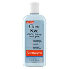 New Neutrogena Clear Pore Oil-Eliminating Astringent 8 Oz.