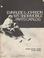 1975 EVINRUDE & JOHNSON SNOWMOBILE(see cover for list) PARTS MANUAL 263957 (344)