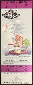 2000 Indianapolis Indy 500 Motor Speedway Race Ticket 84th Car Racing Vintage