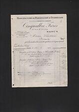 Nancy, facture 1926, Cinqualbre frère Manufacture de parapluis & Ombrelles