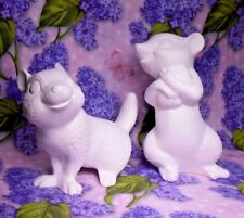 Chipmunks Set of 2 Ceramic Bisque Ready to Paint