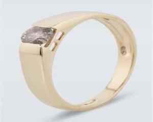 Harry Ivens IV Ring GG 585 Brillant champagner 0,25 ct.