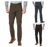 English Laundry Mens Slim Through Leg Patterned 5 Pocket Casual Pant - VARIETY