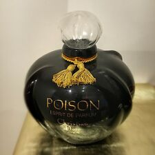 COLLECTIBLE GIANT Dior Poison Parfum 28cm Factice Tassel Display Bottle Vintage