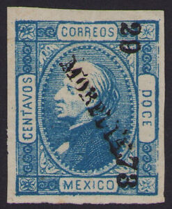 cw21 Mexico #94 12ctv Morelia 24-73 Mint Original Gum VF est $3-5