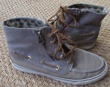 Sperry Top Sider Betty Chukka Boot Sneaker Lace-up Shoes Womens Size 7.5 M Tan