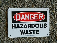 OSHA Danger - Hazardous Waste Storage Area | Heavy Duty Sign or Label