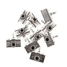 camera Tibetan Silver Bead charms Pendants fit bracelet 5pcs 20*20mm