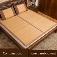 2020 summer sleeping mat for bed rattan foldable bamboo bed mat on sales queen