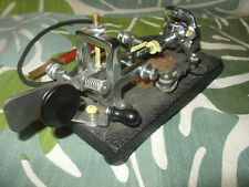 1944 Vibroplex Classic Original Bug 833 Broadway St NY SN 132155 Black Cast Base