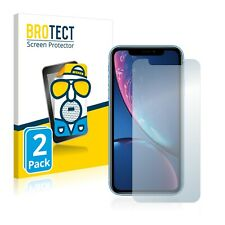 2x iPhone XR Protector Pantalla Mate Película Protectora Antireflejo
