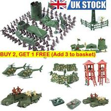 New Military Plastic Toy Soldiers Army Men Figures 12Poses Boy Gift Toy Model