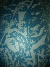 Jacob Bannon Harvest of the Carcass Print BLUE Signed Silk Screen Poster 2010