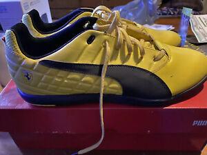 PUMA Athletic Shoes Yellow PUMA Ferrari