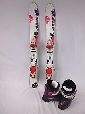 Kids Ski Package, Axis 80 cm Skis, Roxy Bindings, Alpina Boots