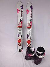 Kids Ski Package, Axis 80 cm Skis, Roxy Bindings, Alpina Boots