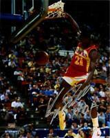 "Dominique Wilkins Signed Slam Dunk Contest 8x10 Photo w/ ""HOF"" Insc."