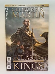 Game Of Thrones A Clash Of Kings #1 1:50 Signed George RR Martin Variant