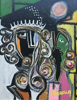 Original 2001 Reinaldo Carrula - The Winner - Painting - COA - DaVinci Gallery