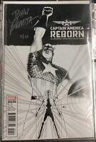 Captain America Reborn #1 Marvel 2009 Sketch Variant  SIGNED JOHN ROMITA w/COA