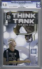 Think Tank: Fun with PTSD Wildfire Preview #1  Image Comics  1st Print   CGC 9.8
