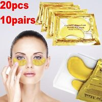 Crystal Collagen Gold Eye Mask Augenpads Anti Aging Feuchtigkeitsmaske ORIGINAL