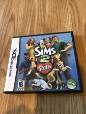 The Sims 2: Pets (Nintendo DS, 2006) Cib Game BT1