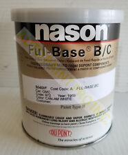 Nason Ful base coat corvette white code10 auto body shop restoration car paint