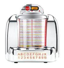 Jukebox Rétro Nostalgia Diner 1950 enceintes stéréo Radio FM MP3 USB SD Lecteur