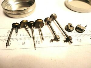 Vintage Watchmakers Arbors, Drilling Stocks, Ferrules