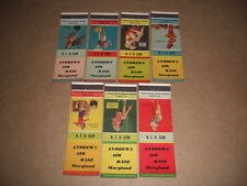 Andrews Air  Base Maryland Matchbook Covers 1949