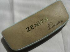 Zenith Precision vintage mens wristwatch presentation box